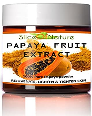 Slice Of Nature Papaya Fruit Extract Facial Mask, 5 oz
