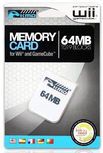 KMD Wii/Gamecube 64MB 1019 Blocks Memory Card
