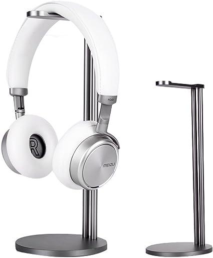 Headset Hanger Headphone Stand Aluminium Alloy Earphone Holder Desk Display
