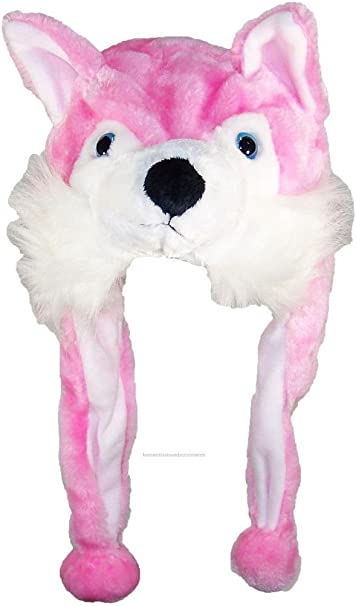 One Size Best Winter Hats Adult//Teen Animal Character Ear Flap Beanie