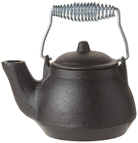 - Old Mountain Mini Tea Kettle, 1.5 Cups, Silver/Wood Handle