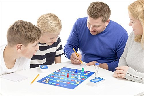 Tactic Games US Draw Out Board Games (312 Piece), Blue, 7.5″ x 2.35″ x 10.35″