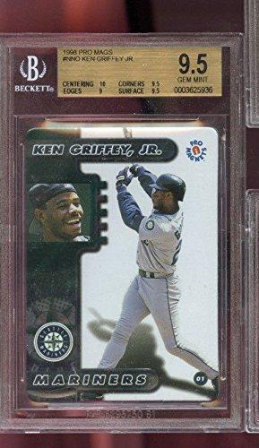 1998-Pro-Mags-Refridgerator-Magnets-Ken-Griffey-Jr-Graded-Baseball-Card-BGS-95