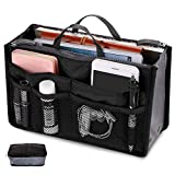 Seacan Womens Handbag Organizer Purse Bag Waterproof Travel Makeup Comestic Organizer, Insert Liner