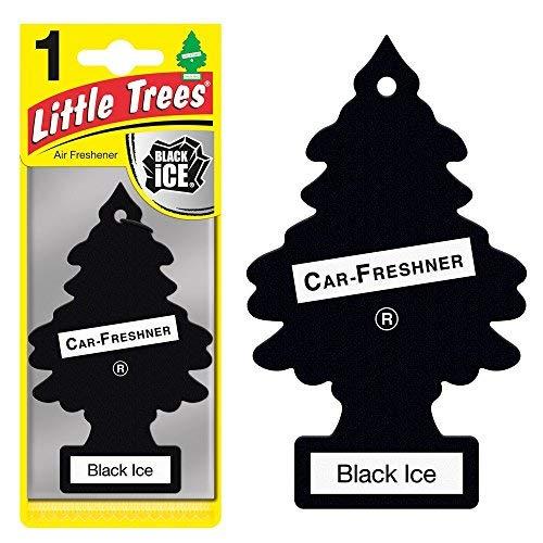 Little Trees 21313 108 Pack Magic Tree Car Home Air Freshener Freshner Smell Fragrance Aroma Scent-Black ICE (108 Pack), 108 Pack