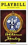 The Addams Family Playbill for the Original Broadway Production, Starring Nathan Lane and Bebe Neuwirth, Lunt-Fontanne Theatre, April 2010