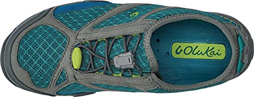 Womens Eleu Trainer Shoe (9 - Sea Green / Charcoal)