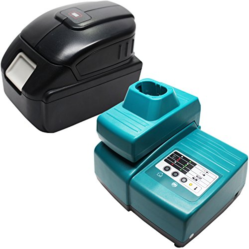 Replacement Makita BTD140Z Battery & Charger with USB Power Source - For Makita 18V Lithium-Ion Power Tool Battery (3000mAh, Lithium-Ion) Review