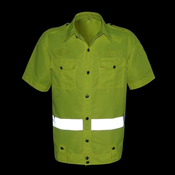Camisa Amarilla Reflector de Seguridad Ropa de Seguridad ...