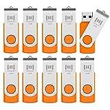 MOSDART 16GB 10 Pack Bulk USB 2.0 Flash Drives