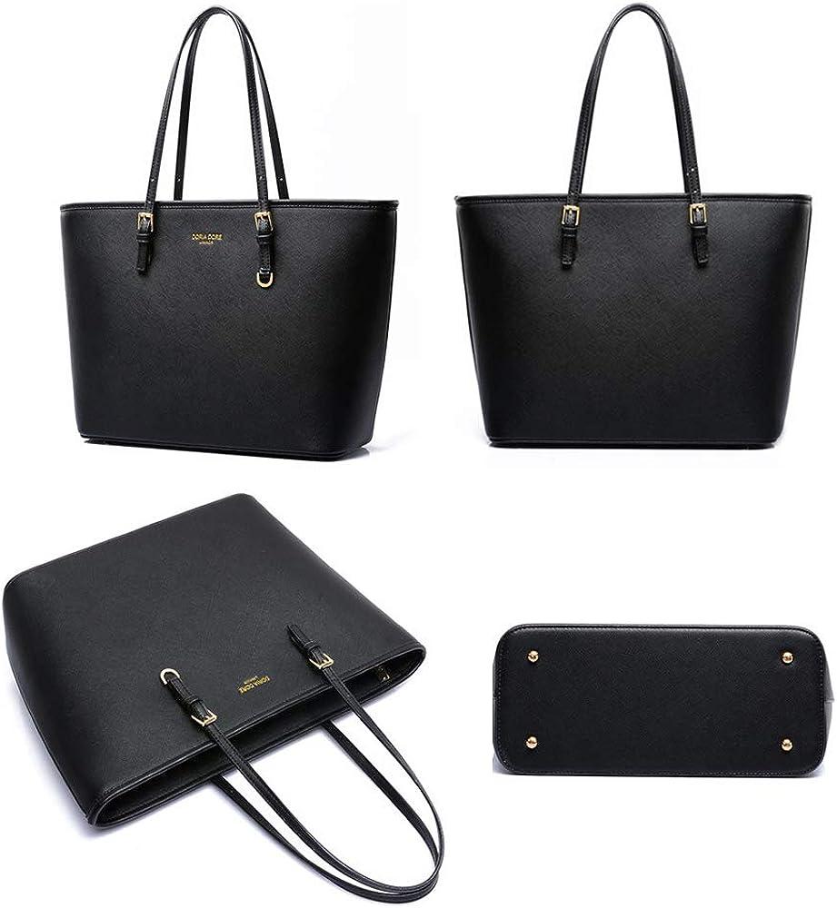 Handbags for Women PU Leather Shoulder Bags Tote Satchel Hobo Purse