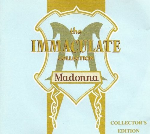 The Immaculate Collection Australian Tour Limited Edition (Gold CD) [Rare] by Warner Music International
