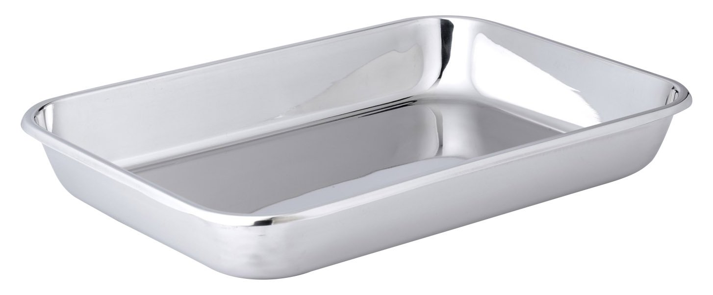 Hammer Stahl 11'' x 16'' Bake Pan, Stainless Steel