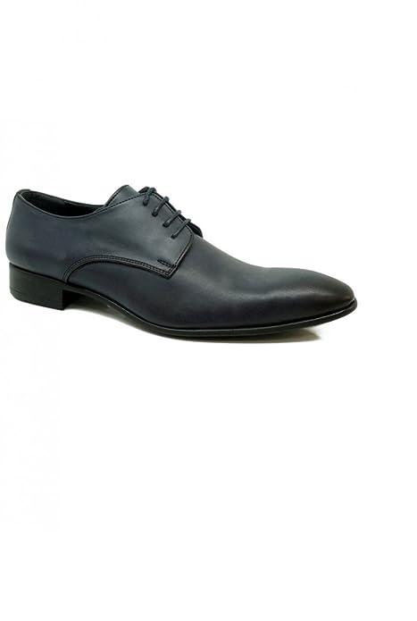 8 Marino Derby P Cordón Agujeros Hombre Azul Zapato Armada CqXw4Z4