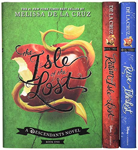 Treasures of the Isle of the Lost [3-Book Hardcover Boxed Set + Poster] (The -