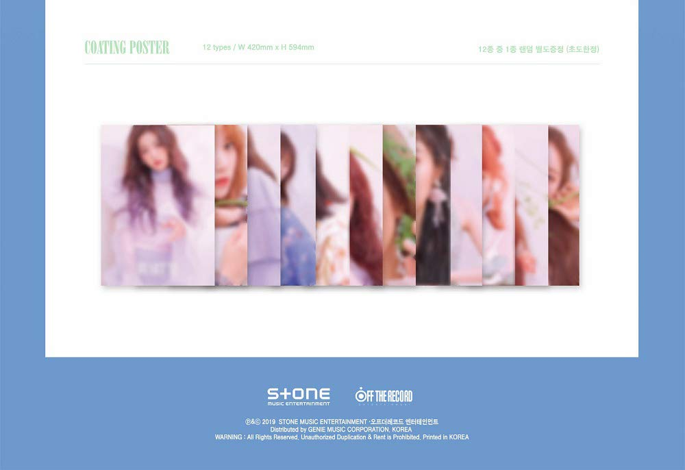 Off The Record IZONE IZONE - HEARTIZ [Random ver ] (2nd Mini Album)  1CD+106p Photobook+Clear Sleeve+Mini Photobook+2Photocards+Pop-up  Card+Folded