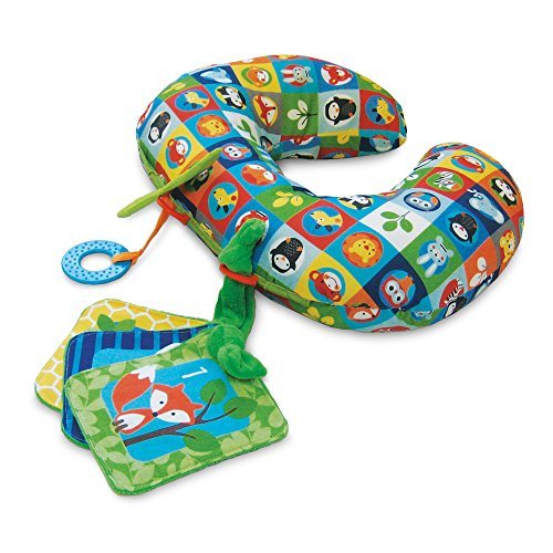 The Boppy Company 3PK Tummy Time, Zoo Buddies