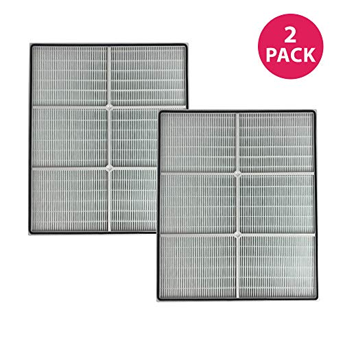 Think Crucial Replacement Air Filters Compatible with Whirlpool Air Purifier Parts 8171434K, 1183054, 1183054K, 1183054K Large, and 1183054K - Whispure - HEPA Style Filter Parts, Bulk Pack (2 Pack)
