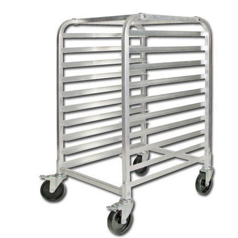 Winco ALRK-10BK Sheet Pan Rack, 26''L x 20-5/8'' x 39''H, (10) full size pan capaci