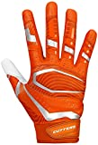 Cutters Gloves, Orange/White, 3X-Large