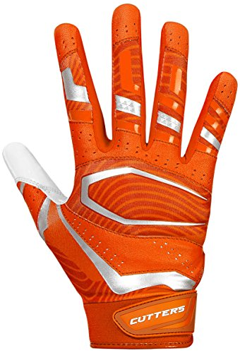 Cutters Gloves, Orange/White, 3X-Large by Cutters