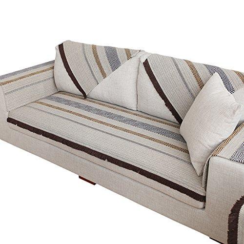 GX AI YY New Day®-El Amortiguador del sofá sofá Toalla Europea sofá Completo de la contraportada Toalla reposabrazos Juego de Toallas Minimalista Moderna, ...