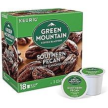 Green Mountain Coffee Roasters 196510 Southern Pecan Coffee K-Cups, 18/box