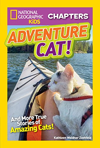 National Geographic Kids Chapters: Adventure Cat! (NGK Chapters) by National Geographic Children's Books