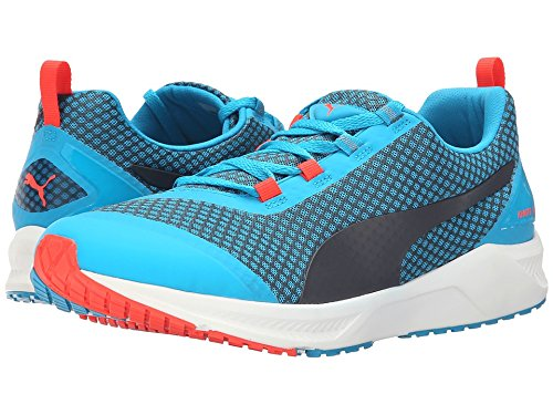 PUMA Men's Ignite XT Core Running Shoe, Atomic Blue/Black/Red, 10 D US
