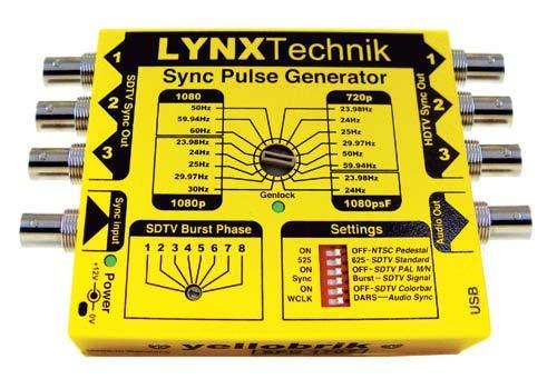HD / SD Sync Pulse Generator with Genlock (SPG 1707)