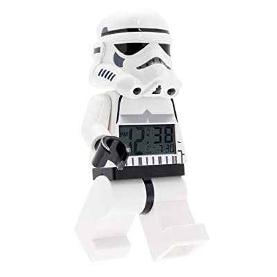 LEGO LEGO Star Wars Stormtrooper minifigure alarm clock (Model: 9002137): Clictime: Watches