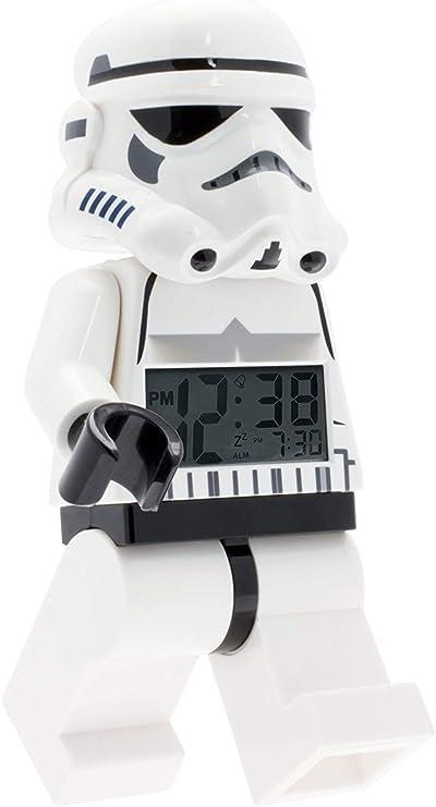 NEW LEGO Star Wars Storm Trooper Minifigure Clock