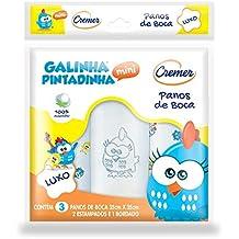 Pano Boca Galinha Pintadinha PC com 3 Unidades, Cremer