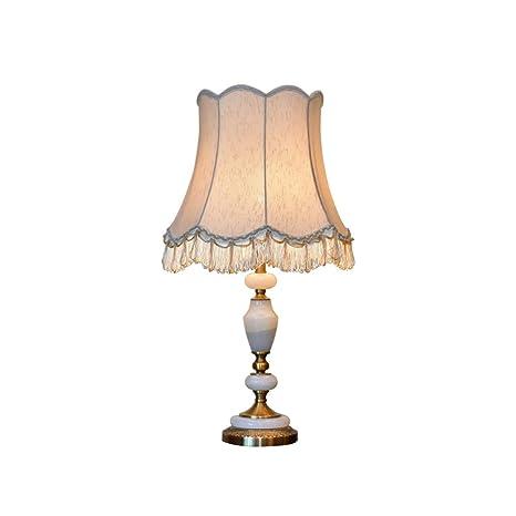 Zunruishop Bedside Lamp Mármol lámpara de Escritorio clásico de la ...