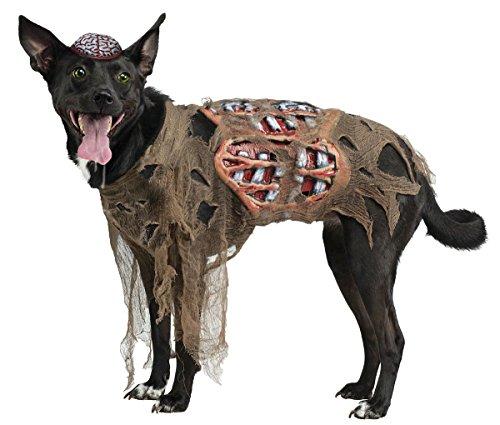 Zombie Dog Pet Costume - -