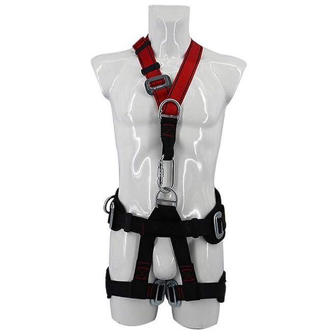 LAIABOR Cinturón de Seguridad de Cuerpo Completo arnés de Alta ...