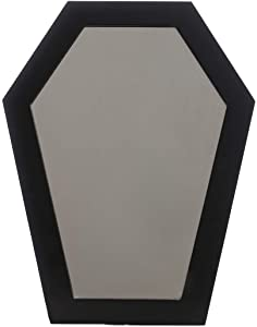 Sourpuss Coffin Mirror Black