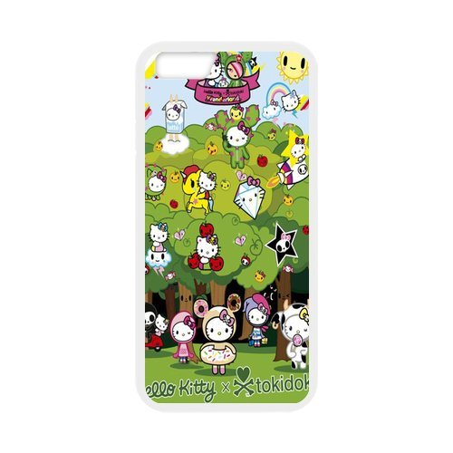 "Fayruz - iPhone 6 Rubber Cases, Tokidoki Hard Phone Cover for iPhone 6 4.7"" F-i5G87"