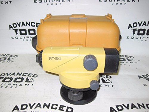 Topcon AT-B4 24x Autolevel Automatic Auto Level Transit w/ Carrying Case & Plumb
