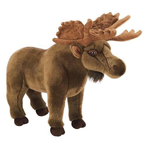 (FAO Schwarz 17 inch Moose - Brown)