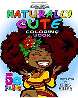 Naturally Cute Coloring Book Volume 1