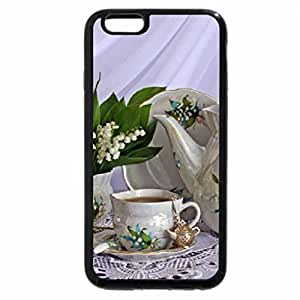 iPhone 6S Plus Case, iPhone 6 Plus Case, Lilly of the valley & tea time