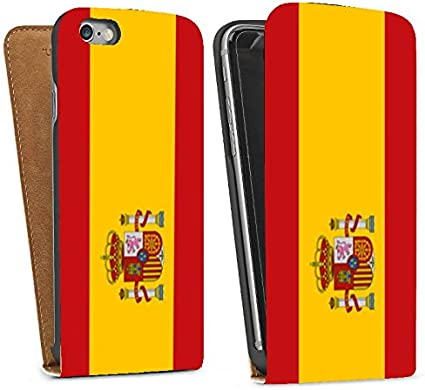 MOBILINNOV Funda con Tapa Vertical para iPhone 6 4.7 con el diseño, Compatible con iPhone 6, Color Bandera de España: Amazon.es: Electrónica