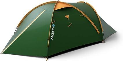 Husky Vert Tente Outdoor BIZON 3 Plus