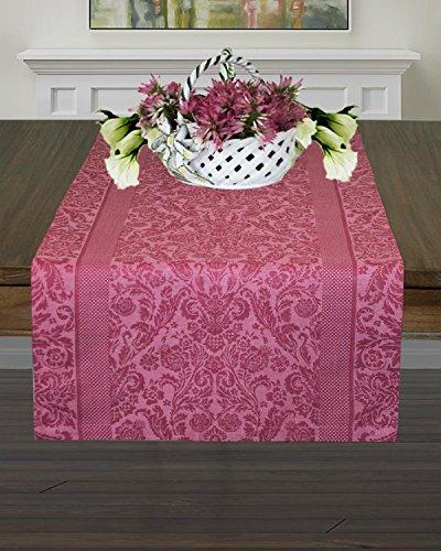 Armani International Regale Table Runner 18 x 90 Linen Cotton Chateau ()