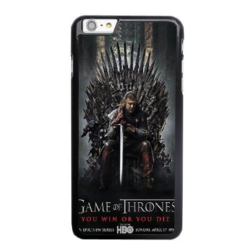 Coque,Apple Coque iphone 6 6S (4.7 pouce) Case Coque, Juego De Tronos Temporada 1 Phone Case Cover for Apple Coque iphone 6 6S (4.7 pouce) Noir Plastic Ultra Slim Cover Case Cover