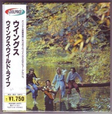 Paul McCartney - Wings - Wild Life - Audio Cd Mlps [mini Long Play Sleeve] Japanese Mini-Lp Replica Audio Cd Obi - Zortam Music