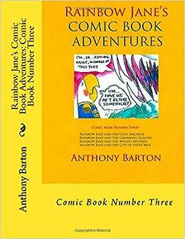 Book Rainbow Jane's Comic Book Adventures: Comic Book Number Three: Comic Book Number Three: Volume 3