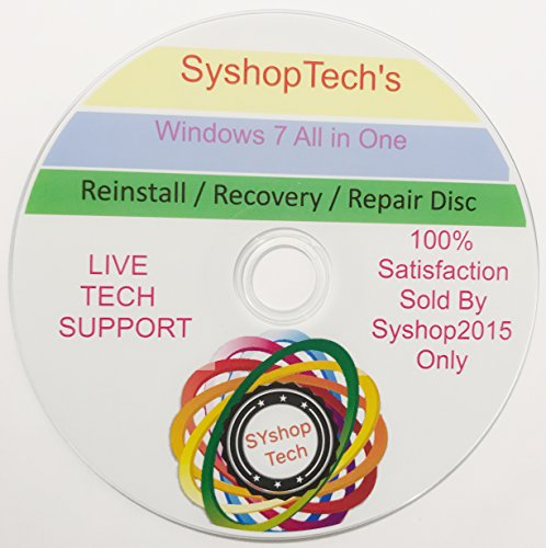 Windows 7 - All edition in 1 DVD Drive 64 & 32 Bit Install/Upgrade/Repair Multi Bootable DVD With FREE TEXT MESSAGING INSTANT TECH SUPPORT