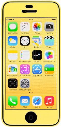Artwizz ScratchStopper Color - screen protectors (Mobile phone/smartphone, Apple, iPhone 5c, Yellow)